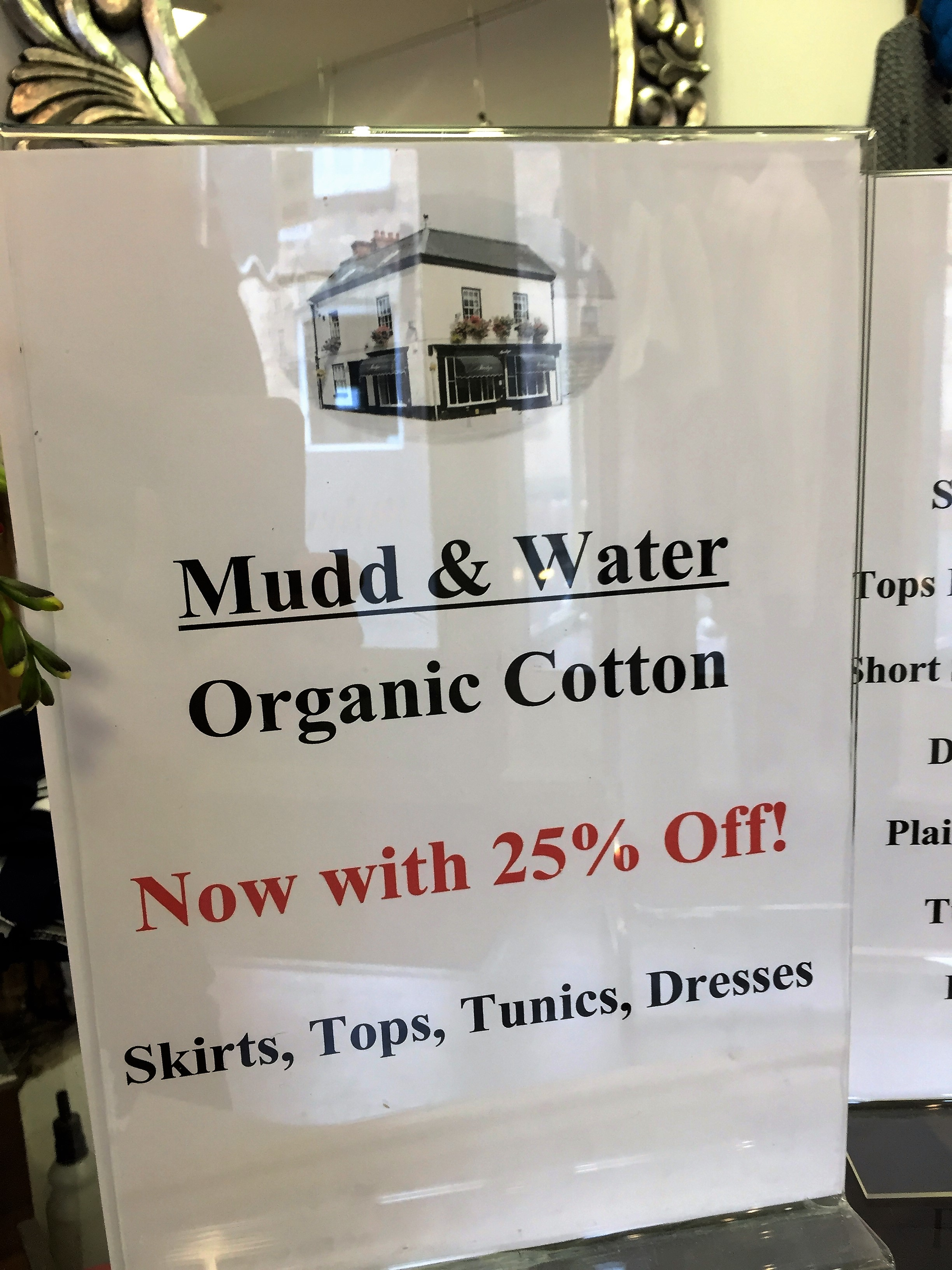25% off Mudd and Water Organic Cotton